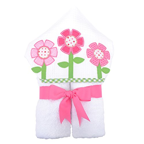 3 Marthas Boutique Everykid Hooded Towel (Pink - Flower)