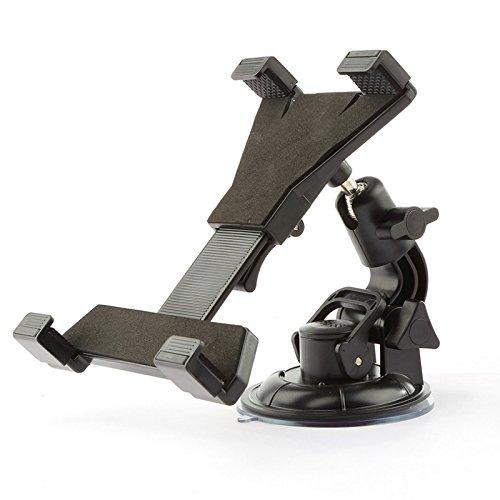 Winbang Support pour tel/â ̈ /â /¦ FONO r/églable Voiture Ventouse Support pour la Tablette 4.7/A 6.3/Pouces en Aluminium Noir