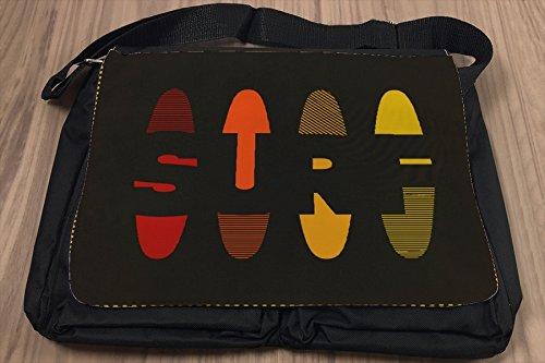 Borsa Tracolla Retro SURF Stampato