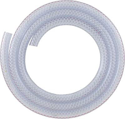LDR 516 B1410 1/4-Inch ID 10-Feet Bag Clear Braided Nylon Tubing