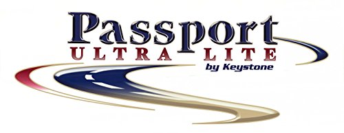 Passport 1 RV TRAILER KEYSTONE ULTRA LITE LOGO DECAL GRAPHIC-77-4