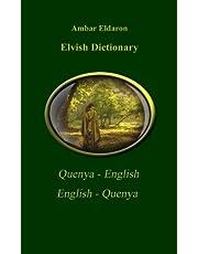 Elvish Dictionary Quenya-English English-Quenya