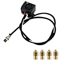 CHPOWER Extruder 3D Printers Original Replacement, Full Assemble MK8 Extruder Hot End Kits, 3D Printers Parts/Accessories for Creality 3D Printer from CHPOWER