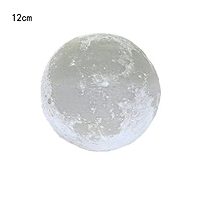 Lisin Decor Night Lights,3D USB Hand Shot Lights Moon Night Light Moonlight Table Desk Moon Lamp Gift