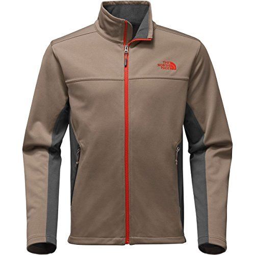 The North Face Men's Apex Canyonwall Jacket - Falcon Brown & Asphalt Grey - S (Past Season) by The North Face