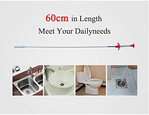 Tuyau de drague /égouttoir Salle de Bain Honana Outil de Nettoyage pour canalisations de Cuisine