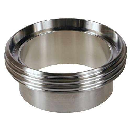 DIN Welding Male | 3 inch (80mm) - Stainless Steel SS304 / 3A - Glacier Tanks