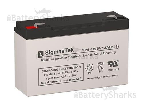 6V, 10Ah Sealed Lead Acid Battery