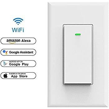 Tp Link Smart Wi Fi Light Switch No Hub Required Single