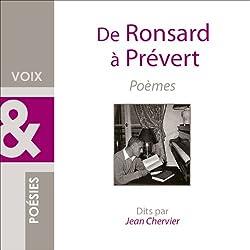 De Ronsard à Prévert
