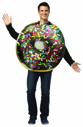 Food And Drink Halloween Costumes (Rasta Imposta Get Real Doughnut, Multi, Standard)