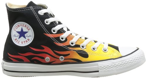 Graphic Taylor Converse flame Star Chuck Mixte Hi 027 Adulte Canvas Multicolore Graphics All nqH6BO0q
