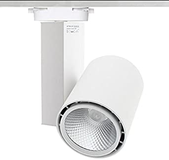 Ledbox Foco Led para carril DOMO CITIZEN LED, blanco, 40W, Blanco frío: Amazon.es: Iluminación