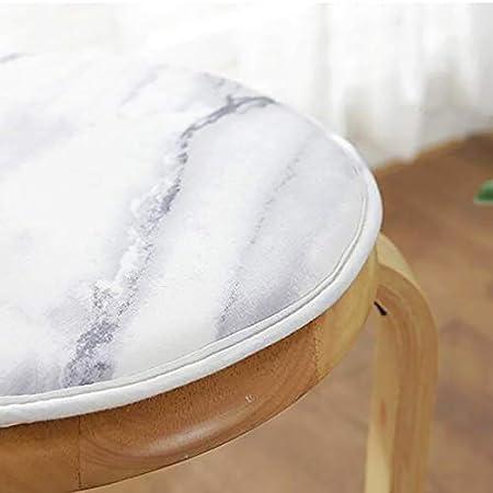 Chair cushion Runde Stuhl Polster a Durchmesser25cm Leinen Nicht-Slip Weich Mehrfachmuster Sitzkissen Mit Krawatten F/ür K/üchenb/üro Bar Hocker Stuhl Kissen 10inch