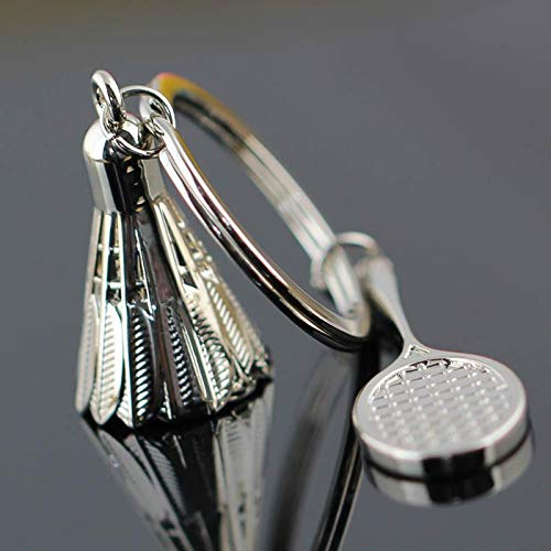 Custom Made Key Ring Badminton Llavero Habitación Decoración ...