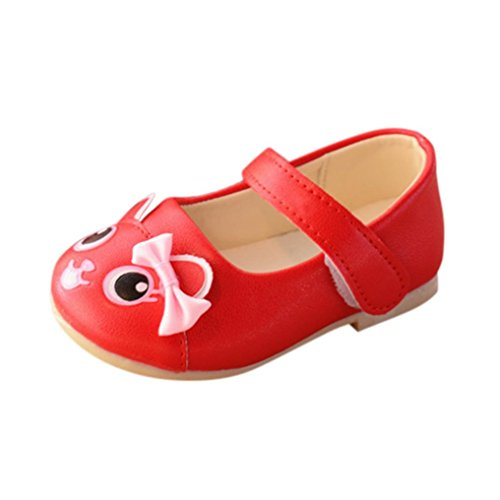 Tenworld Infant Baby Mary Jane Sandals Fashion Cartoon Baby Girls Pricness Shoes (23, - Nylon Sexy Feet Pictures