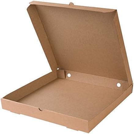 BIOZOYG Caja para Pizza I Pizza Cajas 31x31 cm Pizza cartones 100 ...