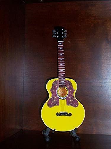 Mini Guitarra ROLLING STONES RONNIE WOOD Figurilla Presente ...