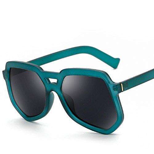 Embryform Mode dame chat chat Les lunettes de soleil Lunettes de soleil anti- UV Fashion Vert