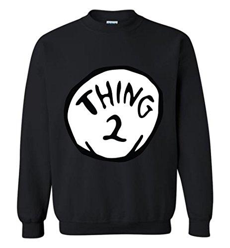 2 Black Sweatshirt - 6