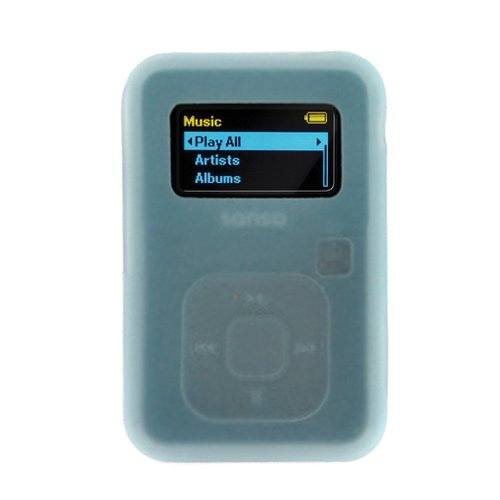 GTMax Blue Rubber Soft Silicone Skin Cover Case for SanDisk