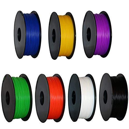 3d Pen Geeetech Filament 3d Filament PLA 3d Filament 1.75/mm PLA 1/kg pour la plupart des imprimantes 3d Bleu