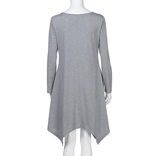 gris para mujer Mounter Abrigo Noche Ow6WqTxnHC