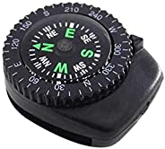 Simonedy Button Compass Oil Filled Compass Mini Pocket Button Compass for Camping, Hiking, Boating, Survival B