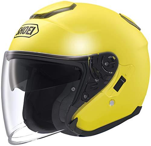 Shoei J-Cruise Solid Helmet Brilliant Yellow (Yellow, Medium)