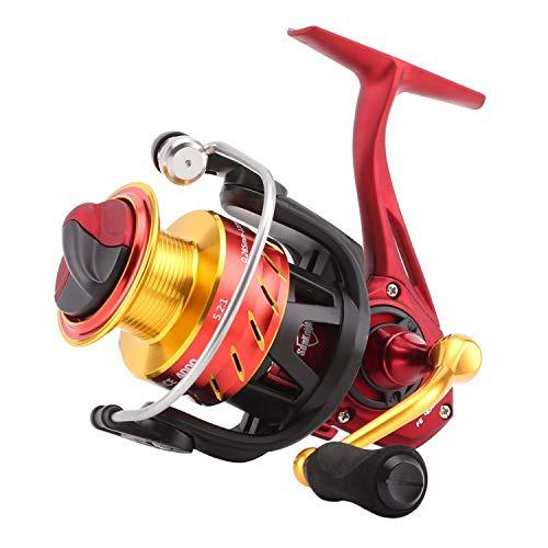 Torn Heaven Spinning Fishing Reel 2000 3000 4000 Carbon Drag System Wheel 5.2:1 10+1Bb Aluminum CNC Spool 8/10/12Kg Drag,11,3000 Series