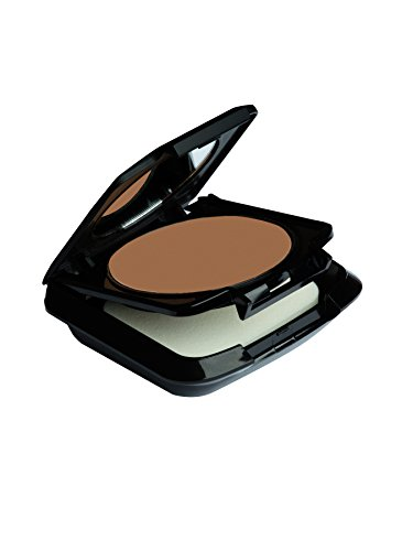 Palladio Dual Wet and Dry Foundation, Toasted Almond, Apply Wet for Maximum, Full Coverage or Dry for Light Finishing and Touchups, Minimizes Fine Lines, Helps Prevent Breakouts, Includes Sponge