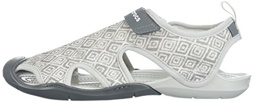 07dd36c466c816 Crocs Women s Swiftwater Graphic Mesh SNDL Sport Sandal