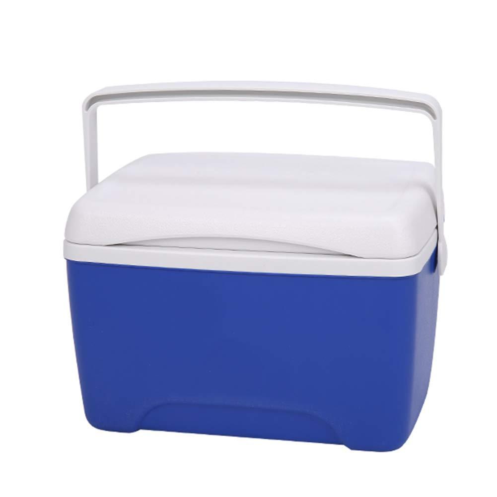 Bleu 30x21.5x22cm LIANGLIANG Glaciere Rigide Poignée Portative Extérieure De Conservation De La Chaleur petit Multifonction Retain Fraîcheur Haute Capacité Plastique 8L   13L, 2 Couleurs