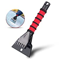 Professional Ice Scraper & Crusher Tool For Ice & Snow Removal | Breaks & Removes Snow & Frost From Your CarGÇÖs Windshield | Anti-Scratch, Handheld, Innovational Tool For Your Vehicle, Truck & SUV