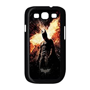 Batman ROCK0081891 Phone Back Case Customized Art Print Design Hard Shell Protection Samsung Galaxy S3 I9300