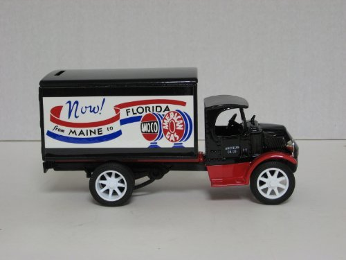Scale Models Die Cast Truck Model #GF-8000, #4 in a Series: 1935 Mack Truck Bank with AMOCO Freight Logo, only 15,000 made