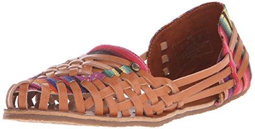 Roxy Women s Meri Shoe Flat, Brown, 6 M US - Import It All ebf501f45a90