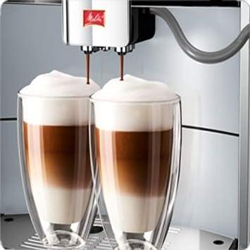 Melitta Caffeo Barista T Espresso machine Plata - Cafetera (Independiente, Espresso machine, Plata, Tocar, LED, Totalmente automática): Amazon.es: Hogar