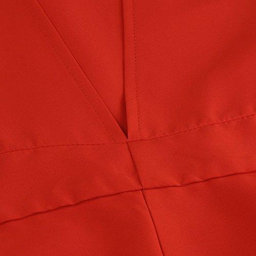 LMMVP - Bolso mochila  para mujer azul amarillo medium rosso