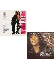 Pretty Woman - The Bodyguard - 2 CD Movie Soundtrack Bundling