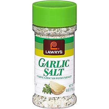 Lawry's Garlic Salt Coarse Ground With Parlsey, 6 oz