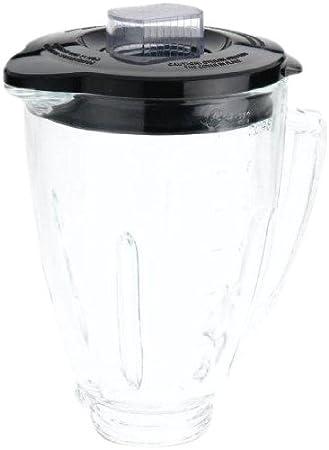 Oster blstaj-CB batidora de 6 Tazas Jarra de Cristal - Negro Tapa: Amazon.es