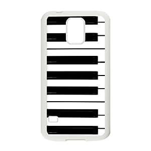 Nymeria 19 Customized Piano Keys Diy Design For Samsung Galaxy S5 Hard Back Cover Case DE-216