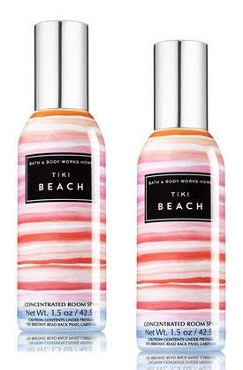 Bath and Body Works 2 Pack Tiki Beach Concentrated Room Spray. 1.5 Oz.