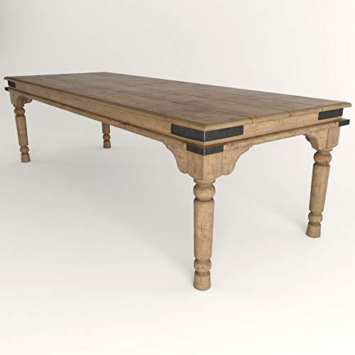 Mesa rustica bodega madera maciza: Amazon.es: Handmade