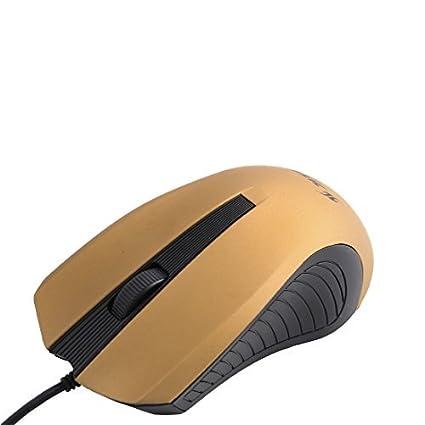 eDealMax Home Office ordenador PC Con conexión de Cable USB DE 3 botones del ratón óptico