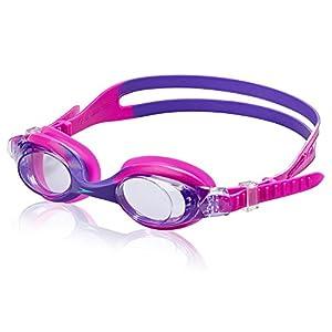 Speedo Kids' Skoogles Swim Goggle, Bright Pink, One Size