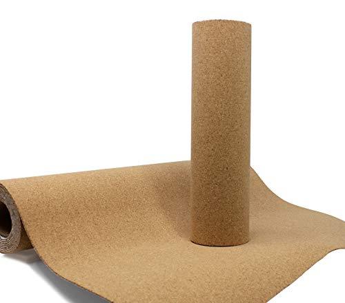 VViViD Adhesive Backed Natural Cork Board Sheet Paper Roll (15.9