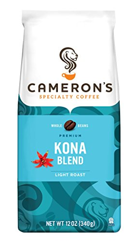 Cameron's Kona Mingle Whole Bean Coffee, 12-Ounce Bags (Pack of 3)