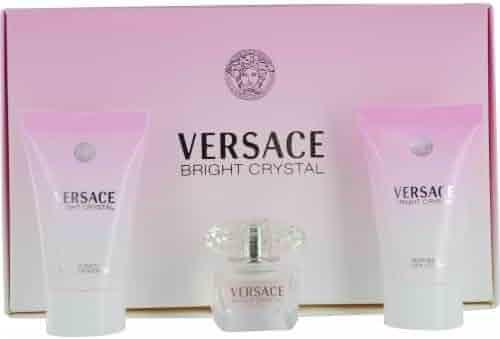 Versace Bright Crystal 3 Piece Miniature Set